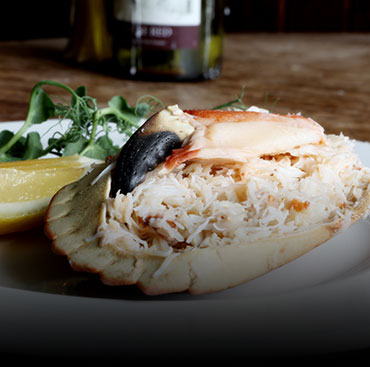 Dresssed Crab, A La Carte, The Dudley Arms, Restaurant, Ingleby Greenhow
